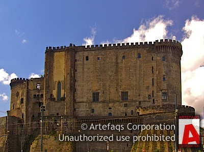 Stock photo of Castel Nuovo - Naples, Italy
