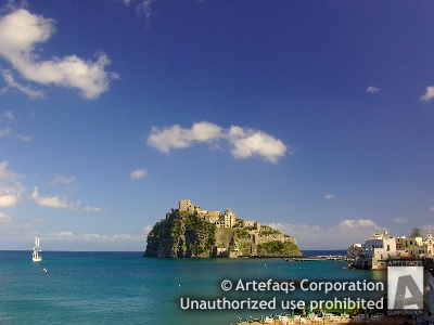 Stock photo of Aragonese Castle of Ischia - Ischia Ponte, Italy