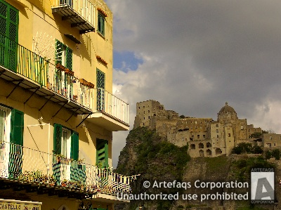 Stock photo of Ischia Ponte, Italy