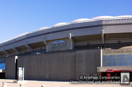 Stock photo of BC Place - Vancouver, British Columbia