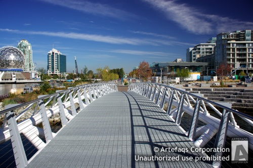 Stock photo of 2010 Winter Games Athletes Village - Vancouver, British Columbia -