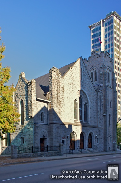 Stock photo of First Baptist Church - Vancouver, British Columbia