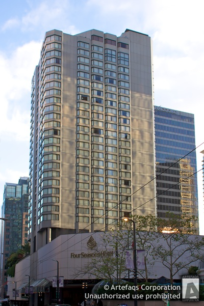 Stock photo of Four Seasons Hotel - Vancouver, British Columbia