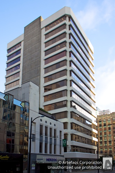 Photograph of Guaranty Trust Building - Vancouver, British Columbia