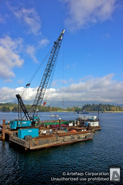 Photograph of Barge - Vancouver, British Columbia
