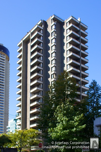 Photograph of Broughton Tower - Vancouver, British Columbia