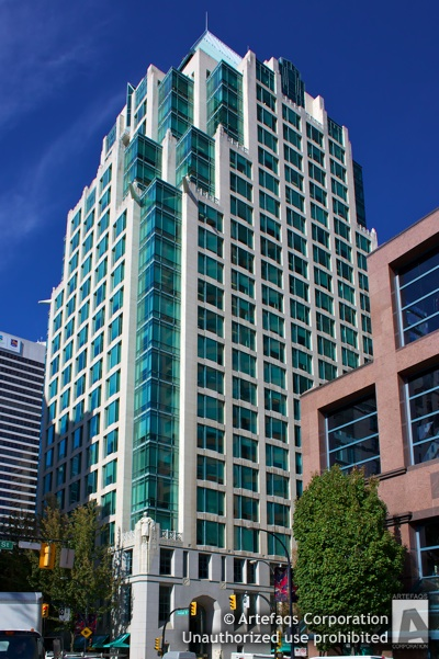 Stock photo of Cathedral Place - Vancouver, British Columbia