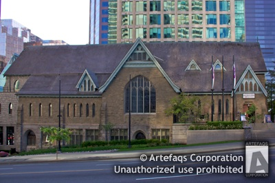 Stock photo of Christ Church Cathedral - Vancouver, British Columbia
