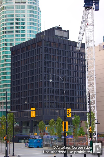 Photograph of Coopers and Lybrand Building - Vancouver, British Columbia