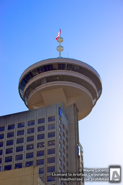 Stock photo of Harbour Centre - Vancouver, British Columbia
