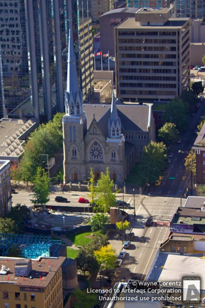 Stock photo of Holy Rosary Cathedral - Vancouver, British Columbia
