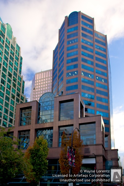Stock photo of HSBC Building - Vancouver, British Columbia