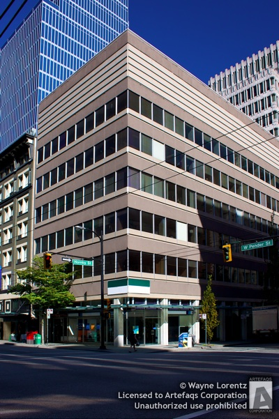 Stock photo of King George Building - Vancouver, British Columbia