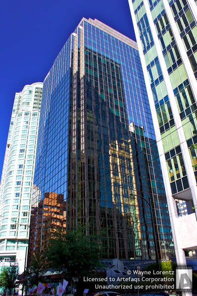 Stock photo of Manulife Place - Vancouver, British Columbia