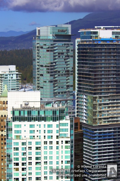 Stock photo of Shaw Tower - Vancouver, British Columbia