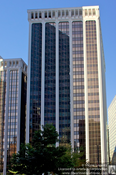 Stock photo of 1 Bentall Centre - Vancouver, British Columbia