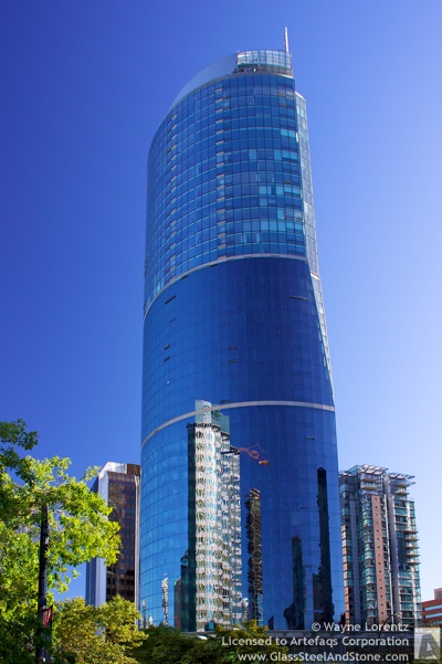 Stock photo of 1 Wall Centre - Vancouver, British Columbia