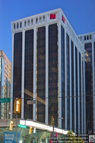 Stock photo of 2 Bentall Centre - Vancouver, British Columbia