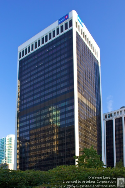 Stock photo of 3 Bentall Centre - Vancouver, British Columbia