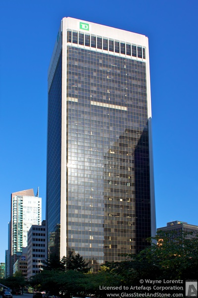 Stock photo of 4 Bentall Centre - Vancouver, British Columbia