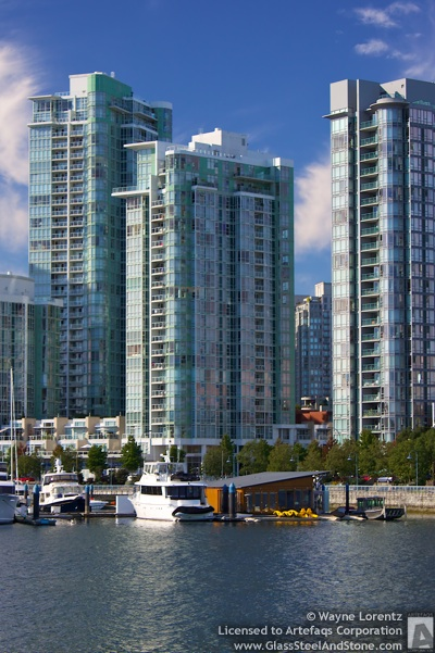 Photograph of 1077 Marinaside - Vancouver, British Columbia