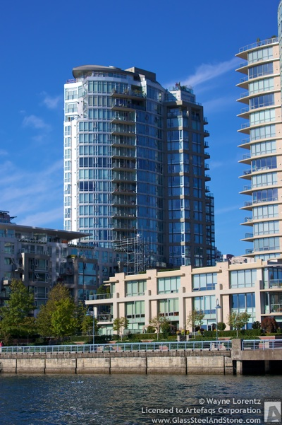 Stock photo of West One, Vancouver, British Columbia