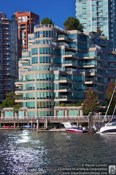 Stock photo of Yacht Harbour Pointe, Vancouver, British Columbia