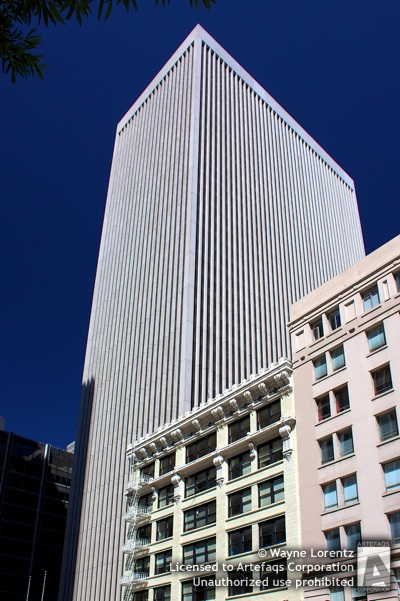 Stock photo of 50 California Street - San Francisco, California