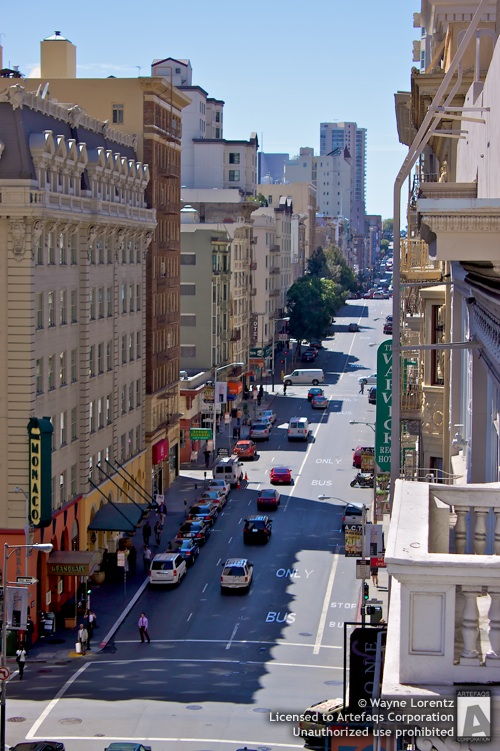 Stock photo of Geary Street - San Francisco, California