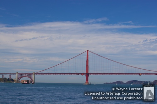 Stock photo of Golden Gate Bridge - San Francisco, California