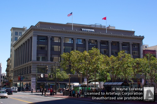 Photograph of Hale Brothers Department Store - San Francisco, California