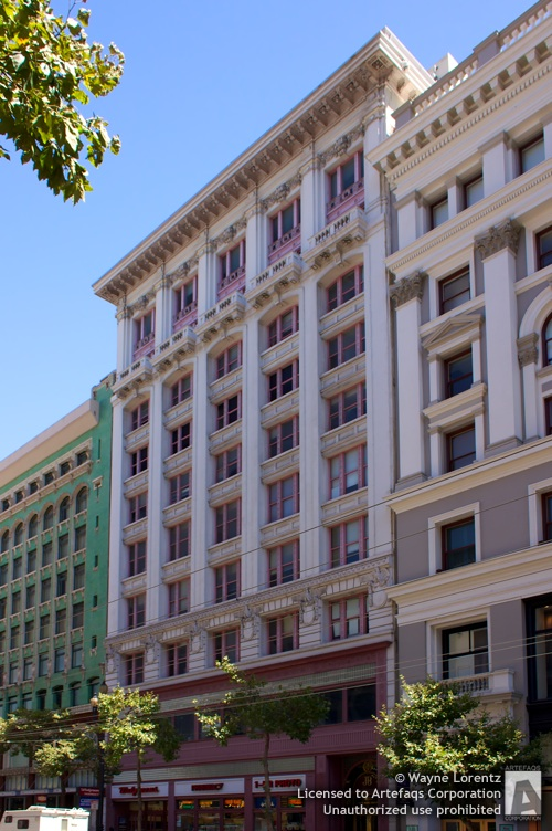 Photograph of James Bong Building - San Francisco, California