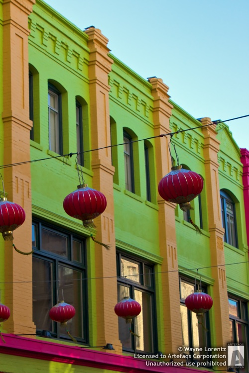Stock photo of Lanterns - San Francisco, California