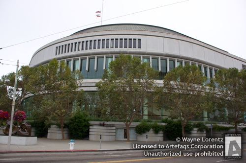 Stock photo of Louise M. Davies Symphony Hall - San Francisco, California