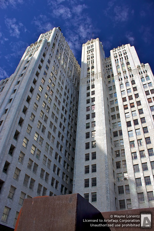 Stock photo of Pacific Telephone Building, San Francisco, California