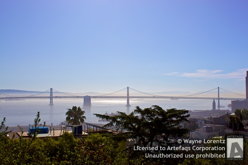 Stock photo of San Francisco, San Francisco, California, August, 2009, Oak