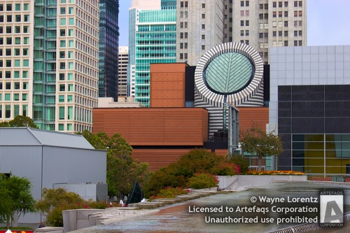 Stock photo of San Francisco Museum of Modern Art, San Francisco, California