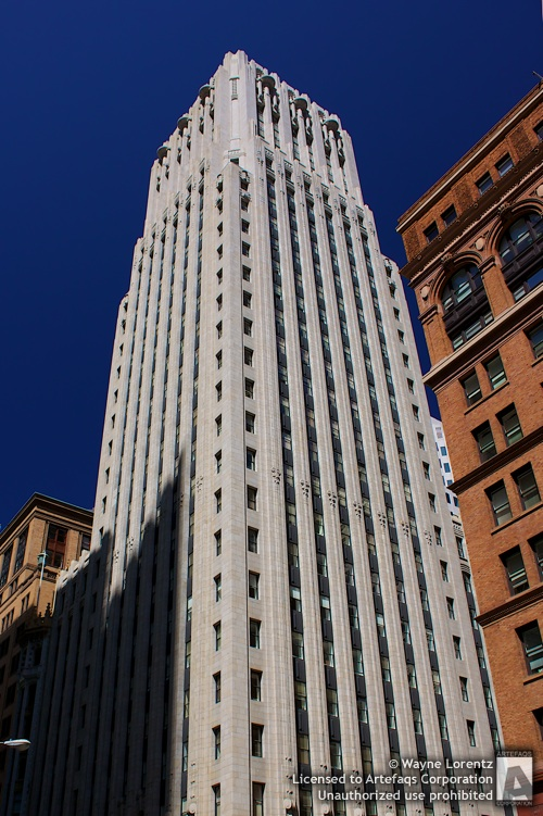 Photograph of Shell Building - San Francisco, California
