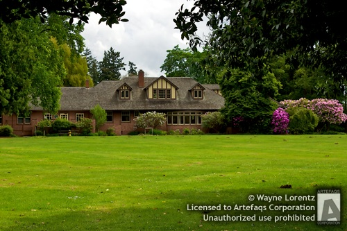Stock photo of Clise Mansion - Redmond, Washington