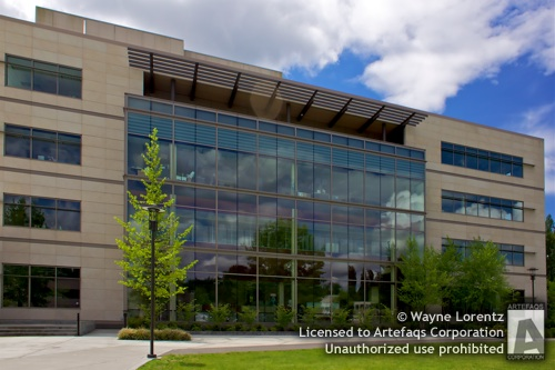 Stock photo of Redmond City Hall - Redmond, Washington