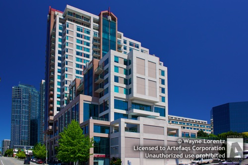 Stock photo of Bellevue Pacific Center - Bellevue, Washington