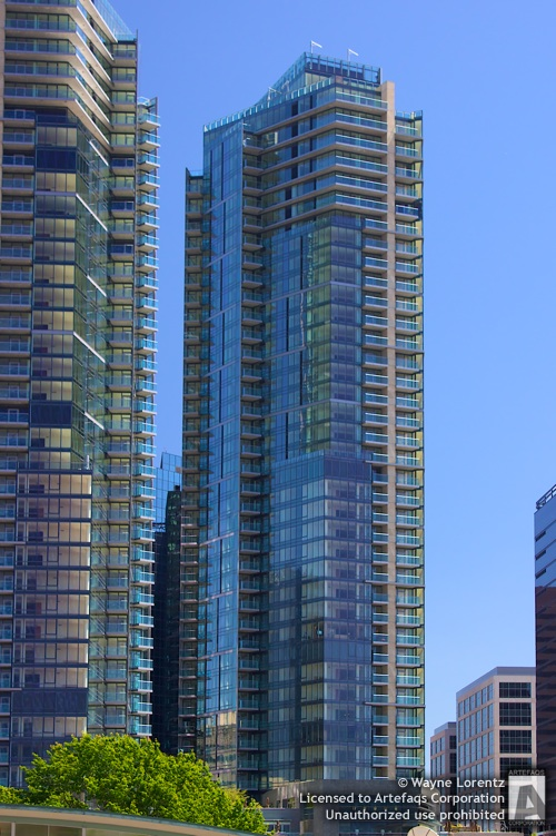 Stock photo of Bellevue Towers - Bellevue, Washington