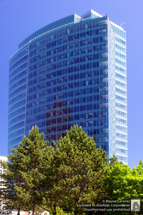 Photograph of City Center Plaza - Bellevue, Washington