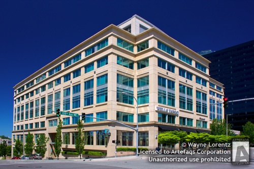Photograph of Civica Office Commons - Bellevue, Washington