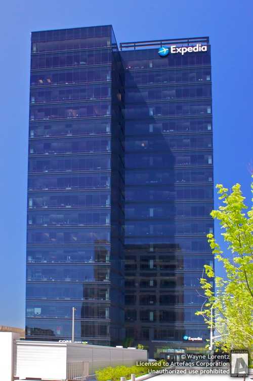 Stock photo of Expedia Tower - Bellevue, Washington