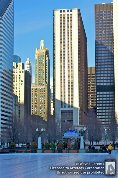 Stock photo of Millennium Park Plaza - Chicago, Illinois