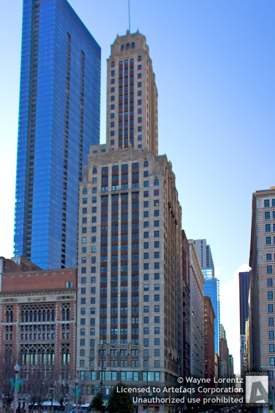 Stock photo of Willoughby Tower - Chicago, Illinois