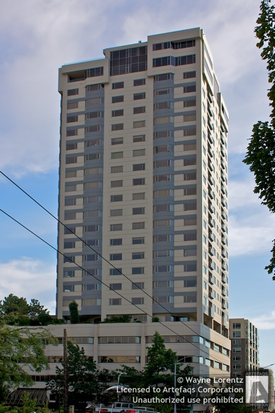 Stock photo of Bay Vista Tower - Seattle, Washington