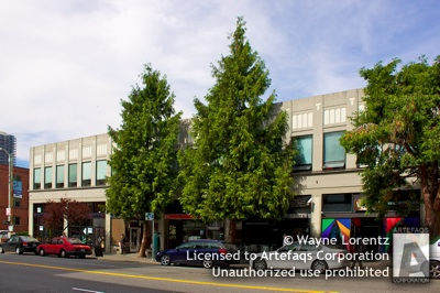 Stock photo of Bell and First Building - Seattle, Washington