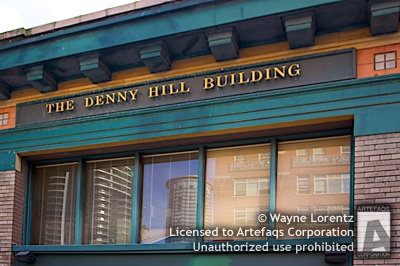 Stock photo of Denny Hill Building - Seattle, Washington